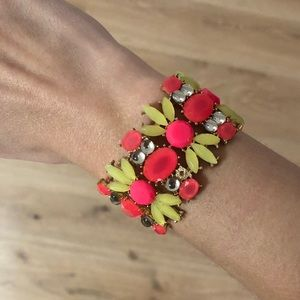 Jewelry - Neon pink and yellow bangle